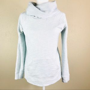 Lou &Grey turtleneck pullover long sleeve sweater
